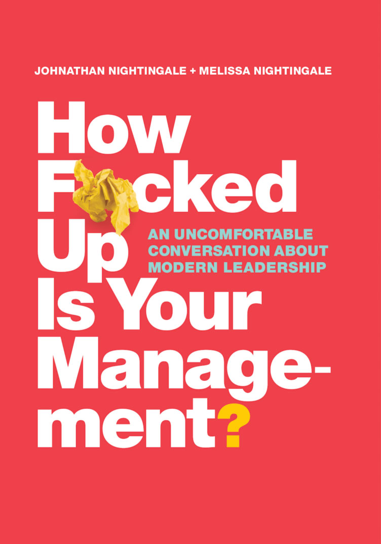 How F*cked Up Is Your Management? Book Cover